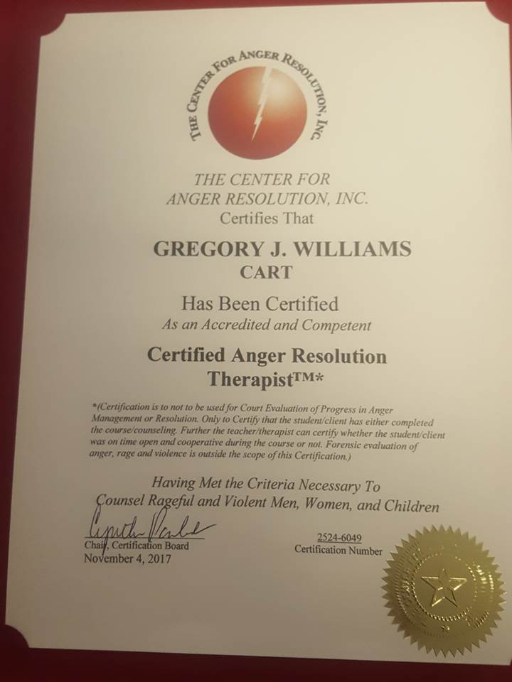 G-Will Talk Ministries - ANGER MANAGEMENT